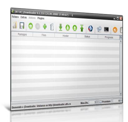 Jdownloader - Gestor de descargas Jdownloader